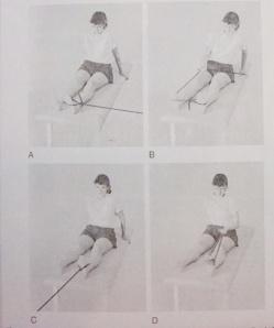 Tập mạnh  cơ cổ chân với băng thera